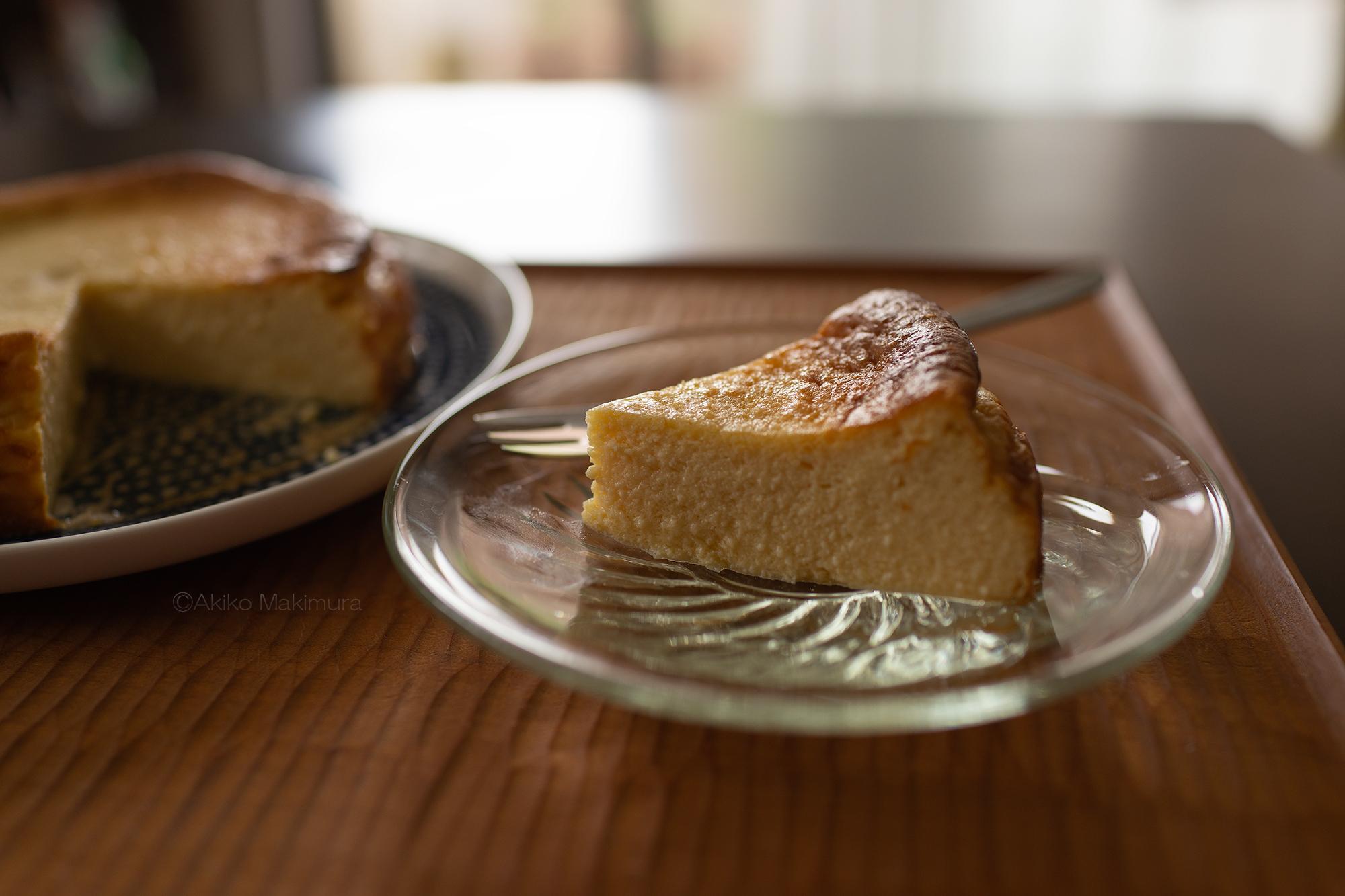 低糖質チーズケーキ ラカントSで作ってみた