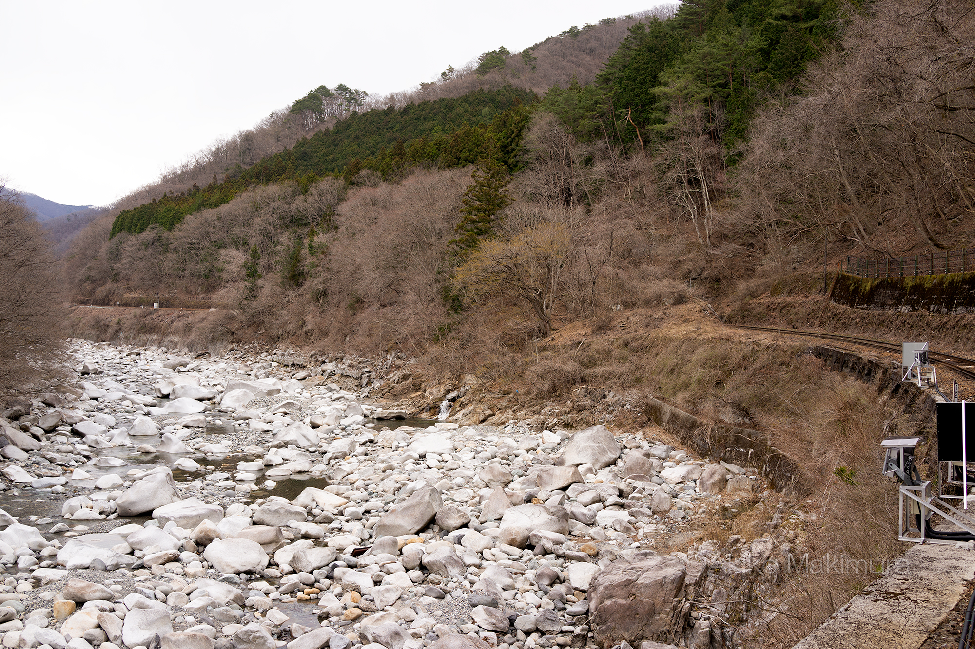 【7】夏虫駅のロケ地と坂東カーブ わたらせ渓谷鉄道の旅