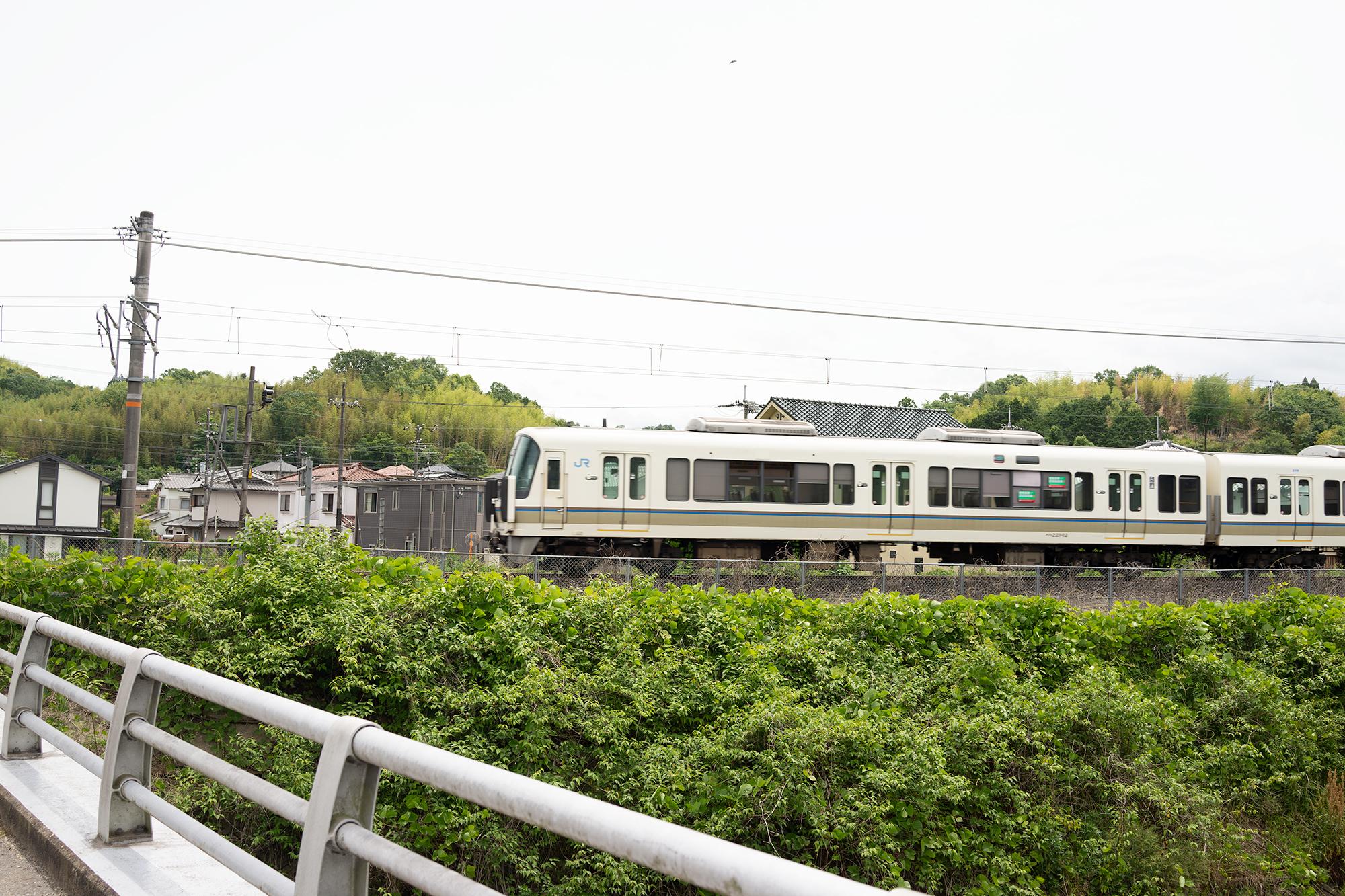 自然に還る鹿背山トンネル 大仏線番外編