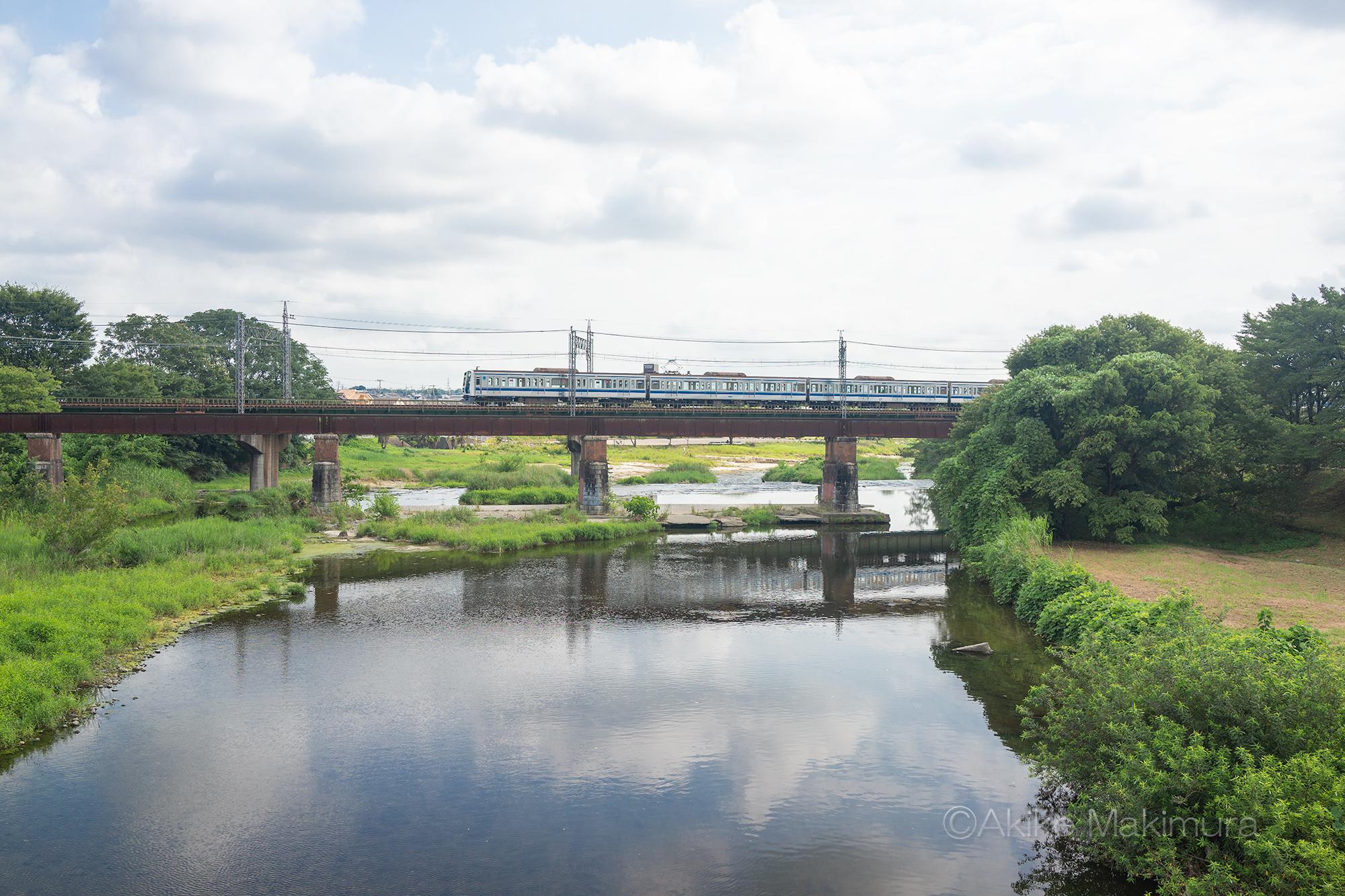 旧入間川橋梁 土木遺産を訪ねて~西武池袋線 後編