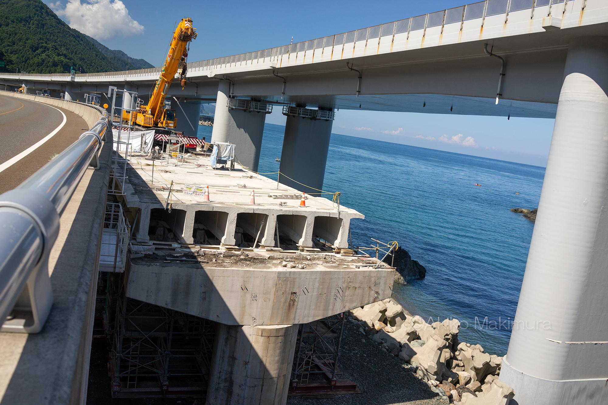 難所国道8号高架橋の架け替え工事、ここまでやって「完了」