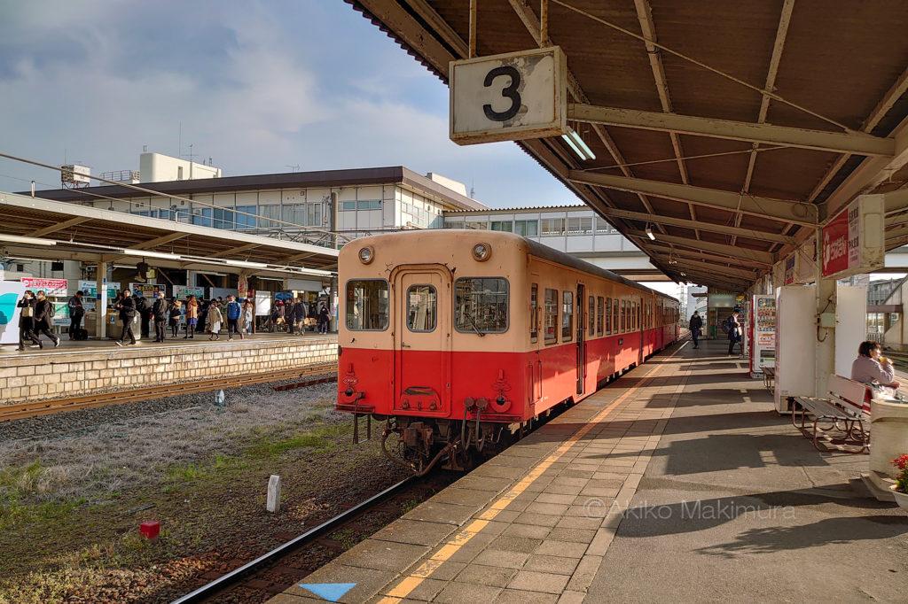 五井駅の小湊鉄道