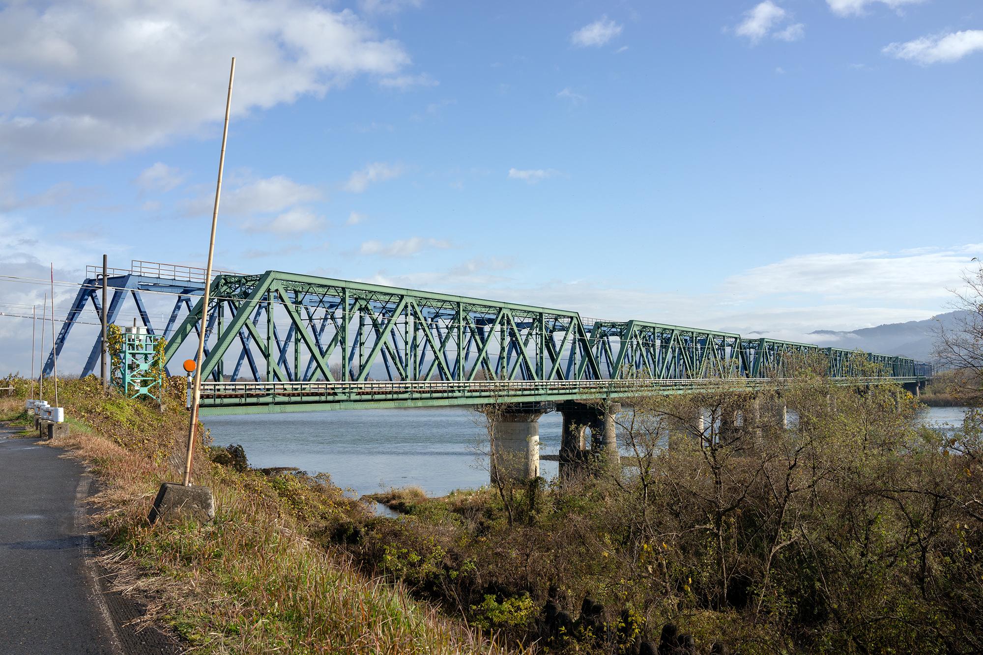 【1】北越鉄道が信濃川に架けた橋 旧浦村鉄橋のあとさき