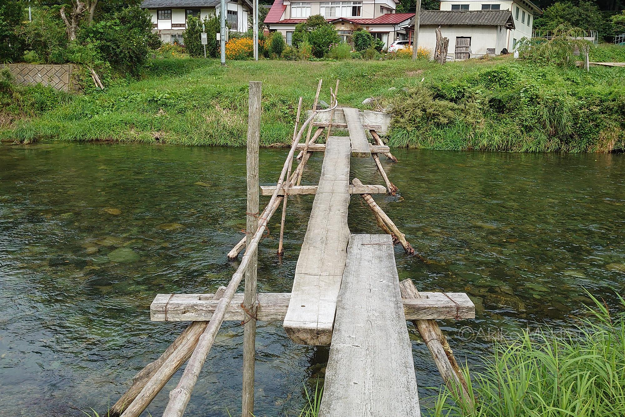 ザマザが支える伝統の流れ橋「松日橋」 岩手県住田町の橋【2】