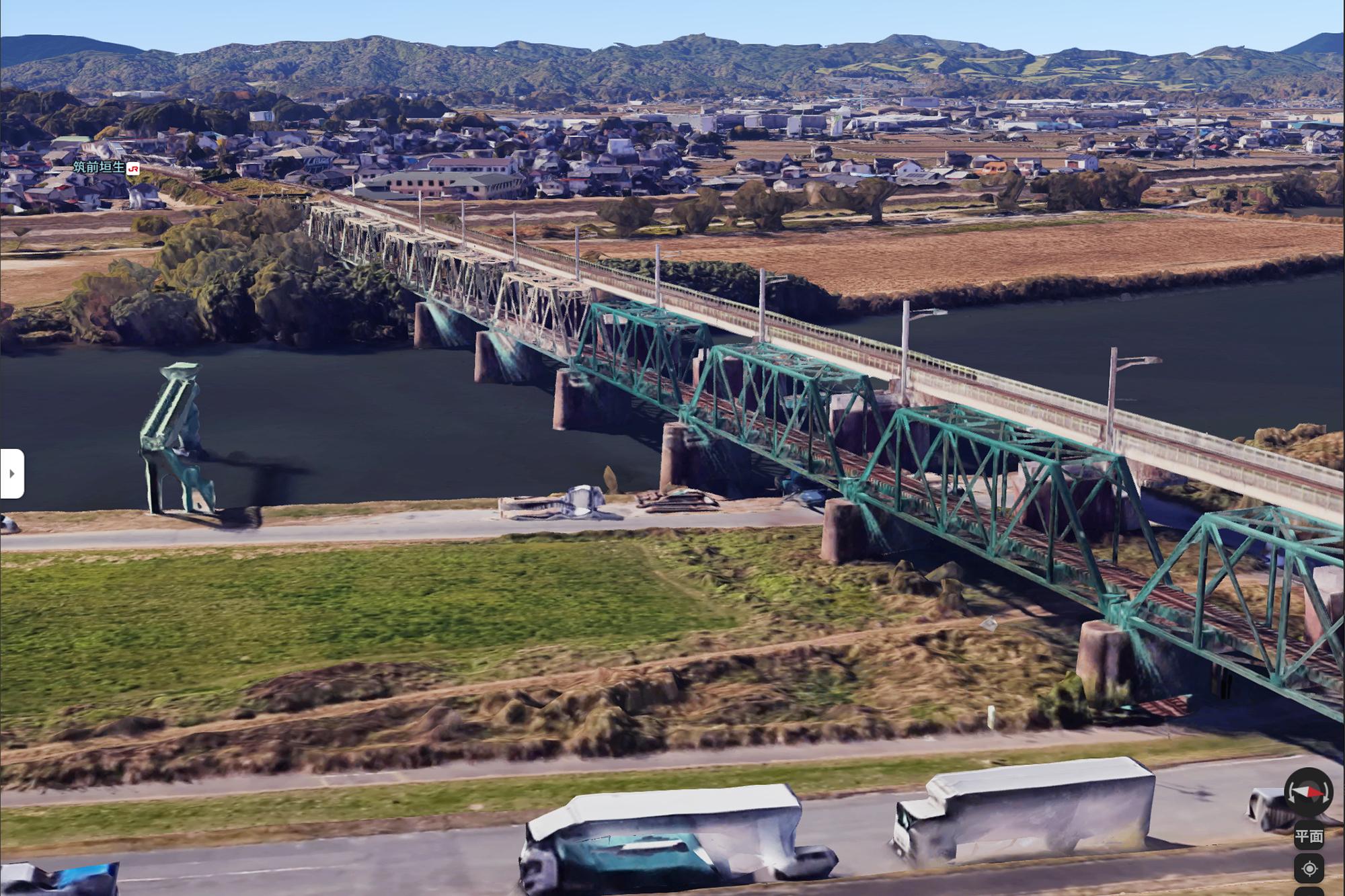 筑豊炭田の隆盛をみる 遠賀川橋梁のクロニクル